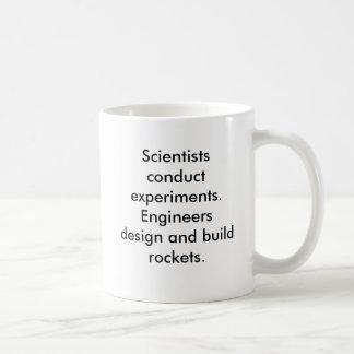 Ninguna taza de los científicos de Rocket