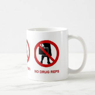 Ninguna taza de los viajantes de la droga