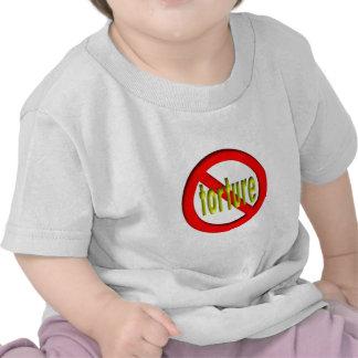 Ninguna tortura camisetas