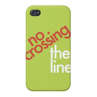 """""""Ninguna travesía la línea """" iPhone 4/4S Carcasas"""