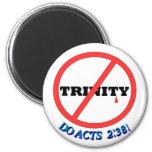 ¡NINGUNA TRINIDAD, HACE 2:38 DE LOS ACTOS! IMÁN DE FRIGORÍFICO