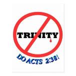 ¡NINGUNA TRINIDAD, HACE 2:38 DE LOS ACTOS! TARJETAS POSTALES