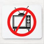 NINGUNA TV - televisión/propaganda/el lavar el cer Mouse Pad