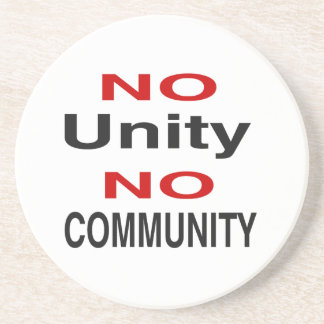 Ninguna unidad ninguna comunidad posavasos para bebidas