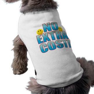 Ninguna vida B del coste Playera Sin Mangas Para Perro
