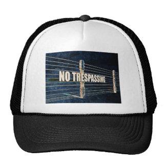 Ninguna violación gorra