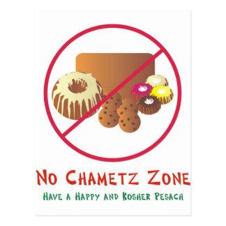 Ninguna zona de Chametz Postal
