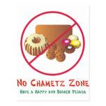 Ninguna zona de Chametz Tarjetas Postales