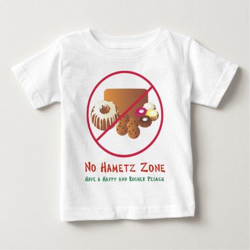 Ninguna zona de Hametz Playera De Bebé