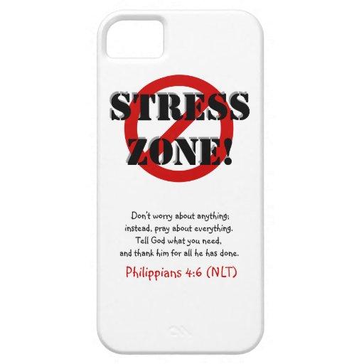 ¡NINGUNA ZONA DE LA TENSIÓN! Caja del teléfono cel iPhone 5 Coberturas