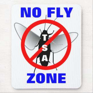 Ninguna zona de mosca tapetes de raton
