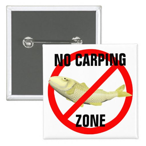 Ninguna zona del Carping Pin Cuadrada 5 Cm