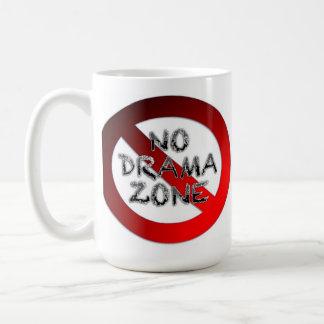 Ninguna zona del drama taza