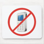 Ninguna zona del teléfono alfombrillas de ratón