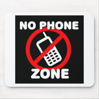 Ninguna zona del teléfono alfombrilla de ratón