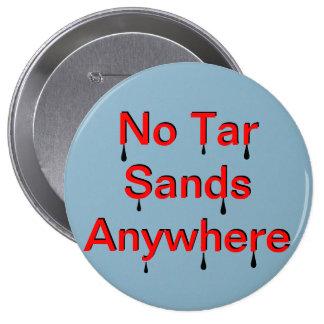 Ningunas arenas de alquitrán pin redondo de 4 pulgadas