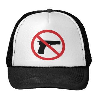 Ningunas armas de mano gorros bordados