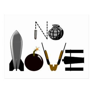 Ningunas armas del amor postal