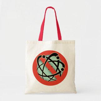 Ningunas armas nucleares bolsa tela barata