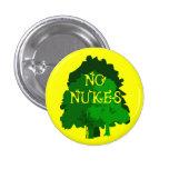 Ningunas armas nucleares con los árboles verdes Pi