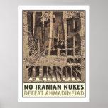 Ningunas armas nucleares del iraní impresiones