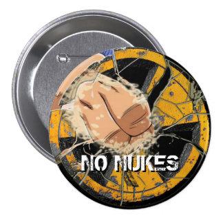 ¡NINGUNAS ARMAS NUCLEARES! ¡NO MÁS DE FUKUSHIMA! PIN