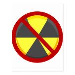 Ningunas armas nucleares postal