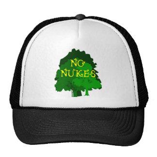 Ningunas armas nucleares que dicen con los árboles gorro