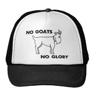 Ningunas cabras ninguna gloria gorro de camionero