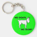 Ningunas cabras ninguna gloria llavero personalizado