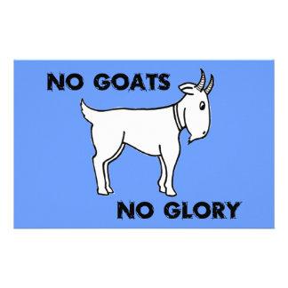 Ningunas cabras ninguna gloria papeleria de diseño
