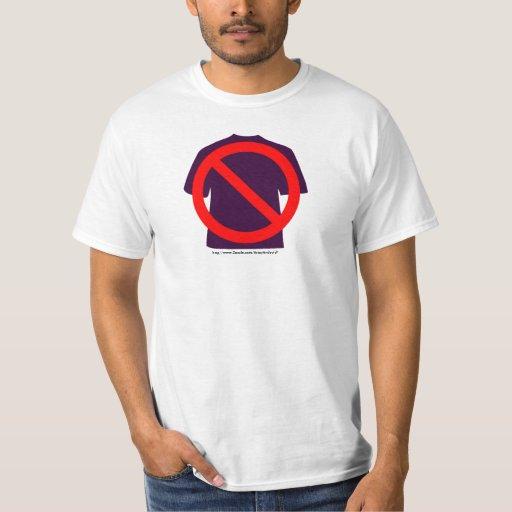 Ningunas camisetas remera