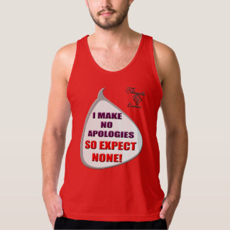 Ningunas camisetas sin mangas de las disculpas 2