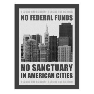 Ningunas ciudades del santuario postales