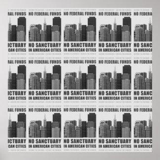 Ningunas ciudades del santuario póster