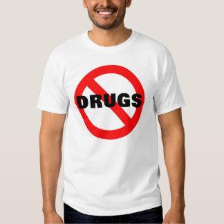 NINGUNAS DROGAS PLAYERA