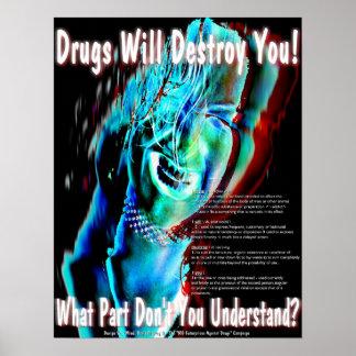 Ningunas drogas poster
