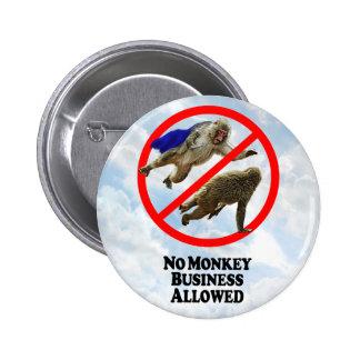 Ningunas estupideces permitidas - botón redondo pin redondo de 2 pulgadas