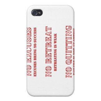 Ningunas excusas iPhone 4/4S carcasas