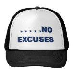 ningunas excusas gorro