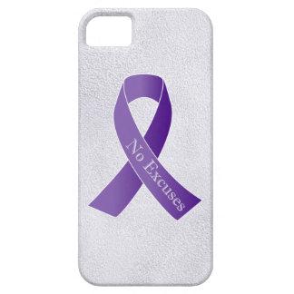 Ningunas excusas para la violencia en el hogar del funda para iPhone 5 barely there