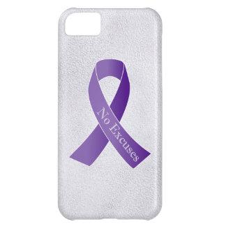Ningunas excusas para la violencia en el hogar del funda para iPhone 5C