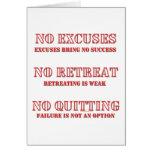 Ningunas excusas tarjetón
