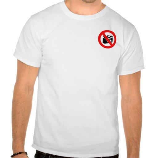 Ningunas fotografías camisetas