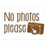 Ningunas fotos satisfacen con la cámara del vintag tarjeta postal