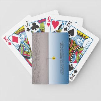 Ningunas fronteras abiertas baraja de cartas