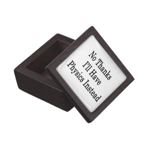 Ningunas gracias tendré física en lugar de otro cajas de recuerdo de calidad