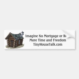 Ningunas hipotecas, más libertad pegatina para auto