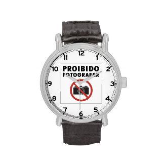Ningunas imágenes no prohibidas la muestra, el reloj de mano