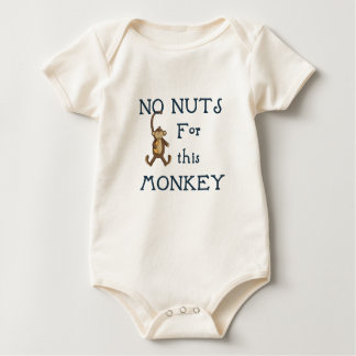 Ningunas nueces para este mono body para bebé
